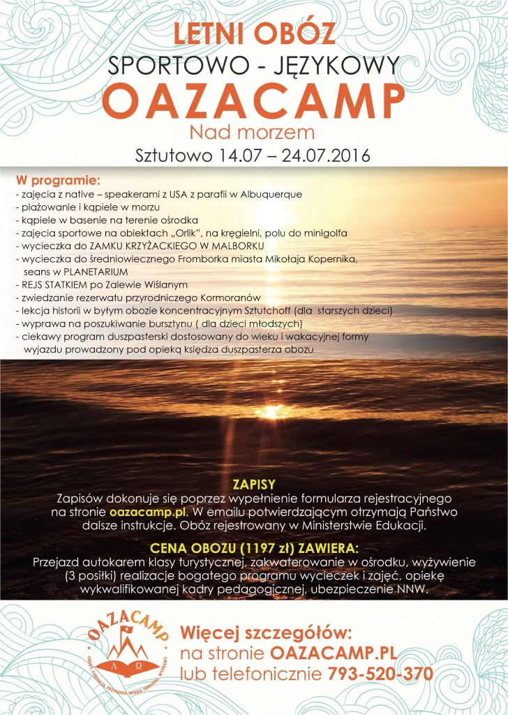 OazaCamp - Kolonie